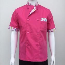 Chaquetilla cocina rosa